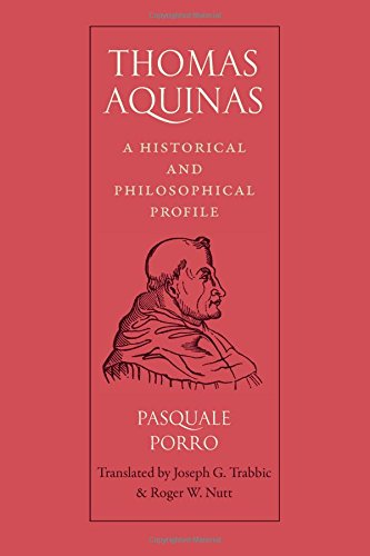 Porthaethwidge thomas aquinas a historical and philosophical profile by pasquale porro fandeluxe Gallery