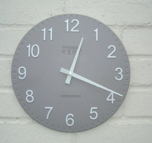 Thomas Kent Cotswold Wall Clock - 50cm Grey 20026