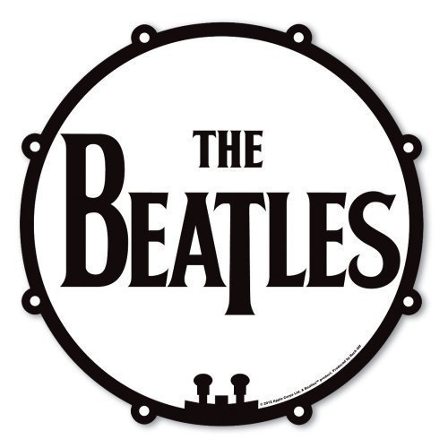 the-beatles-drum-logo-drop-t-black-white-mouse-mat-gaming-pad-official-gift-idea