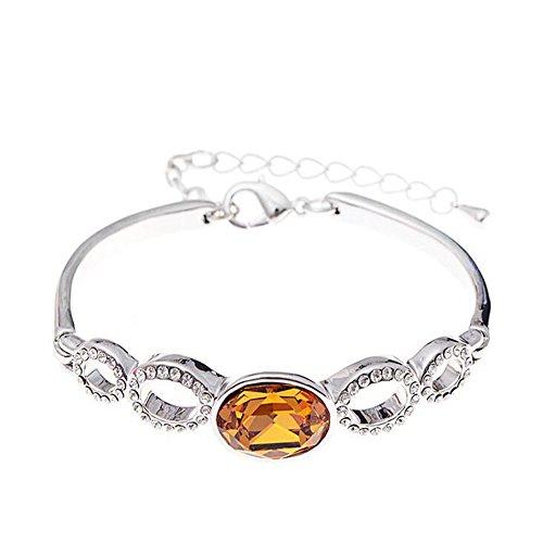 luck-wang-womans-unique-minimalist-fashion-crystal-love-life-braceletyellow