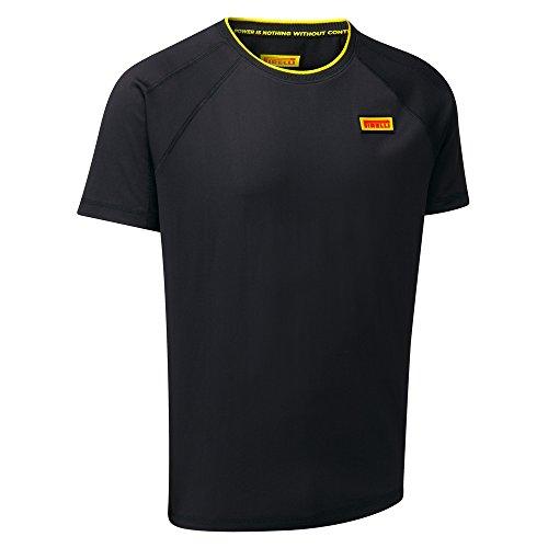 pirelli-herren-technische-t-shirt-top-f1-motorsport-small-blacks