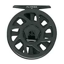 Ross 005590 Flyrise Fly Fishing Reel with 4 to 6-Line Weight, Black Finish