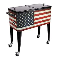 Sainty International Old Glory Patio Cooler