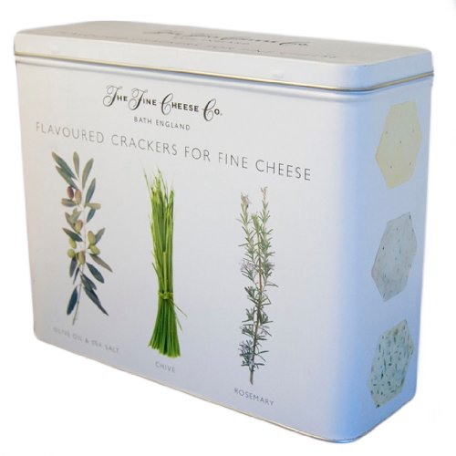 The Fine Cheese Co. Cracker White Tin 450 g
