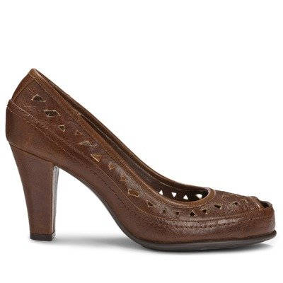 A2 by Aerosoles Women's Benchanted Dress Shoes,Mid Brown Combo,8.5 M US