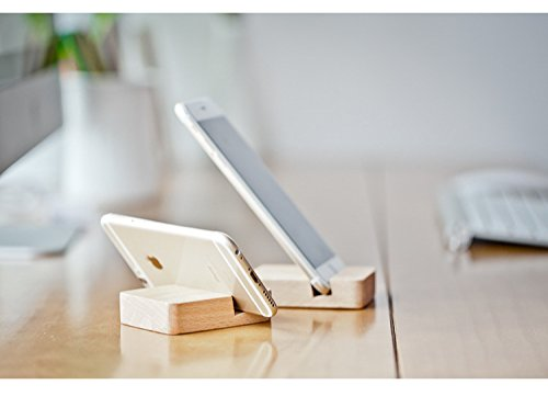 petits cadeaux Creative Support téléphone téléphone paresseux voiture porte support de téléphone portable téléphone mobile base de bois