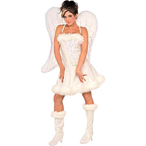 Women's Heavenly Angel Dress Costume (Large 14-16)