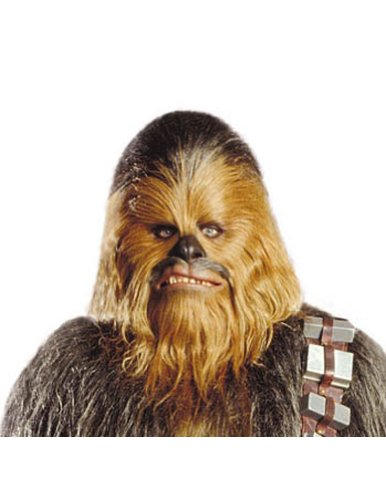 Chewbacca Mask Halloween Costume - Most Adults
