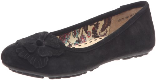 Hush Puppies Women's Myleene Black Ballet H26078300 5 UK
