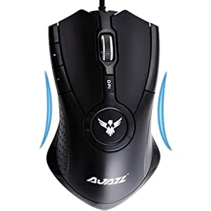 Mouse Mice 2400dpi Adjustable Optical Pro Mouse [ Gry ]: Video Games