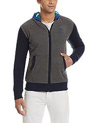 Status Quo Mens Cotton Sweatshirt (8903591851834_SQ-FL-16354(RIVERSIBLE)_Medium_Sea Green and Royal)