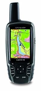 """Garmin GPSMAP 62st GPS Carte Topo 1/100 000ème Taille d'écran 2,6"""" Etanche jusqu'à 1 m Gris / Noir"""