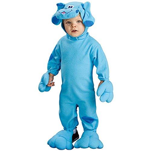 Nickelodeon Toddler Blue'S Clues Romper And Headpiece, Blue Print, Newborn