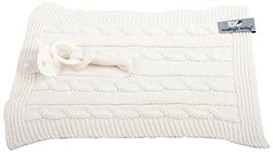 Baby's Only 132815 - Mantita de arrullo para capazos, color blanco en BebeHogar.com