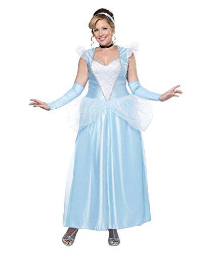 Halloween 2017 Disney Costumes Plus Size & Standard Women's Costume Characters - Women's Costume CharactersClassic Cinderella Plus size Women Costume