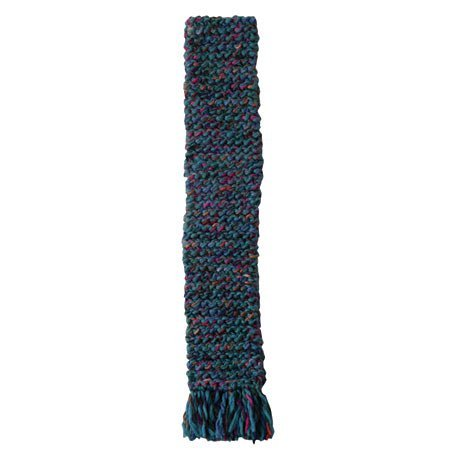 Harrisville Designs / Quick to Knit Scarf Kit for Beginners, Teal