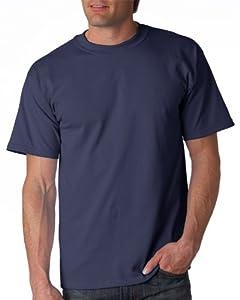 Gildan Adult Ultra Cotton T-Shirt, Blue Dusk, Medium. 2000