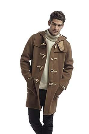 Original Montgomery Mens Wooden Toggles Duffle Coat (36, Camel)