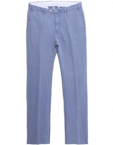 Gant Men's Pants Navy Canvas Trousers UK 38