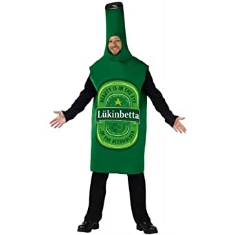 Fun World Beer Bottle Adult Costume