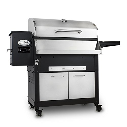 Louisiana Grills 60800 Stainless Steel Wood Pellet Grill, 800 sq. in. (Louisiana Smoker compare prices)