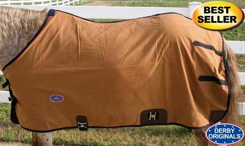Derby Originals Premium Canvas Horse Winter Blanket Wool Lining for Stables