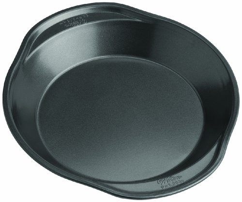 Wilton 2105-6790 Perfect Results Nonstick Pie Pan, 9 by 1.5-Inch