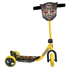 Transformers-2 3-Wheels Scooter, Yellow