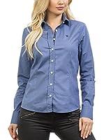 Signore Dei Mari Camisa Mujer Emilia (Azul Índigo)