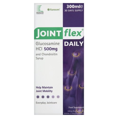 Health Perception Joint Flex Liquid Glucosamine & Chondroitin 500/400mg 300ml
