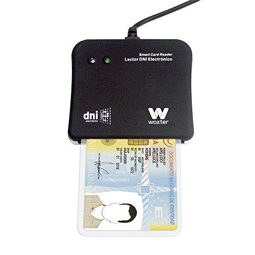 Woxter-DNI-Electrnico-Lector-de-tarjetas-de-memoria-color-negro