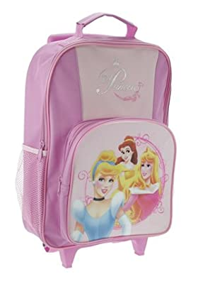 Trade Mark Collections Disney Princess Enchanted Dreams Wheeled Bag with Front Pocket by Trade Mark Collections