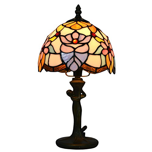 new nuomeiju nmj096 glasmalerei schattentisch lampe. Black Bedroom Furniture Sets. Home Design Ideas