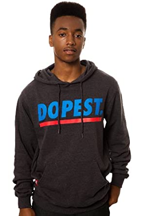Amazon.com Neff Menu0026#39;s Dopest Hoody Pullover Sweatshirt/Sweater Charcoal Heather 2X-Large ...