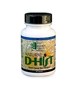 Ortho Molecular Product Natural D-Hist -- 120 Capsules
