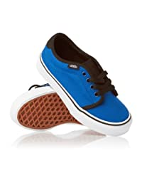 Vans Classic 159 Vulcanized Blue Black Kids Trainers
