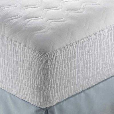 Beautyrest B74Cn 100% Cotton Mattress Pad Size: Full front-1006358