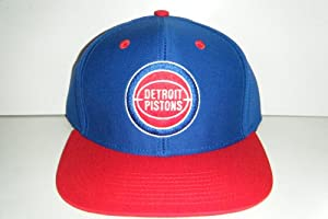 Detroit Pistons Snapback Hat by adidas