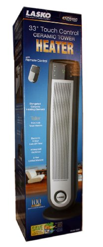 Lasko 33 Quot Touch Control Ceramic Tower Heater With Remote