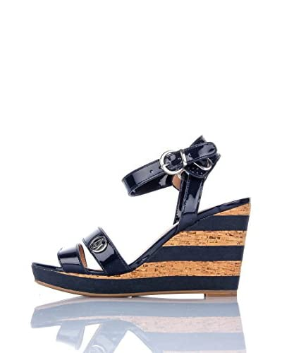 Armani Jeans Sandalias de cuña V5596-56 O5
