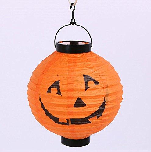 Halloween costumes/ Halloween Jack-o-Lantern/Mobile hanging paper lanterns-B (Face Painting For Skeleton Costume)