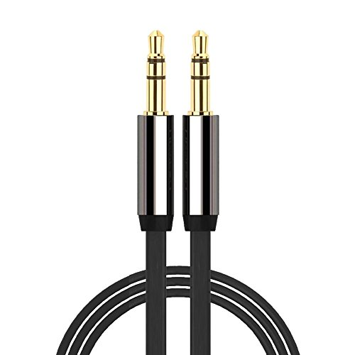 35mm-to-35mm-GOLD-AUX-JACK-CABLE-LEAD-IPOD-AUDIO-MP3-1m-lead-Length-VASI4KO
