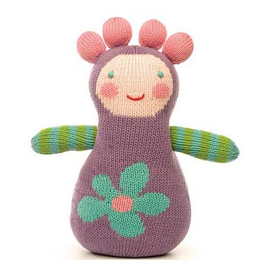 Plum Boogaloo Knit Doll