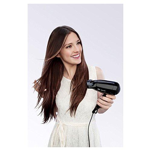 Braun Satin Hair 1 HD130 StyleundGo Haartrockner (klappbarer Reiseföhn für unterwegs) -