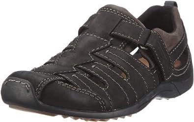 camel active Men's Ali Shoes, Black, 7.5 UK