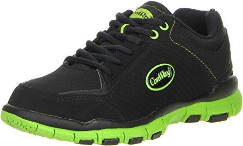 ConWay Damen Herren Trekkingschuhe Outdoorschuhe grün, Größe:38;Farbe:Grün