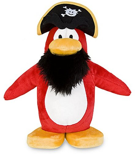 Buy Low Price Jakks Pacific Disney Club Penguin Exclusive 9 Inch DELUXE Plush Figure Rockhopper Includes Coin with Code! (B004ROT074)