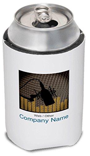 Vistaprint Dark Gray Disc Jockey Koozies front-638930
