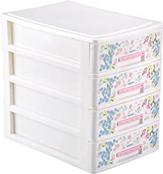 Nayasa Tuckins 4 Piece Drawer, White