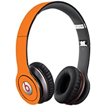Orange Decal Skin for Beats Solo HD Headphones by Dr. Dre